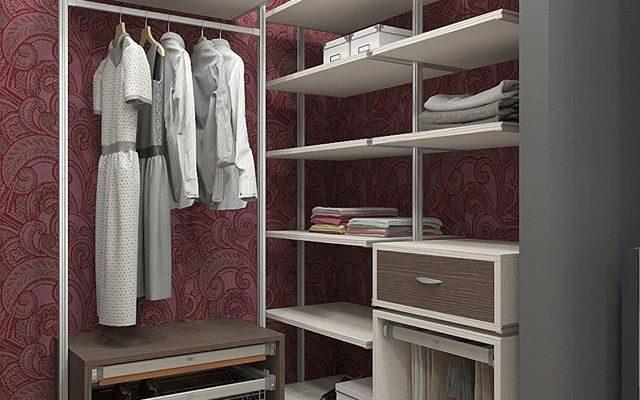 Колонная гардеробная система Витра ГВ-34