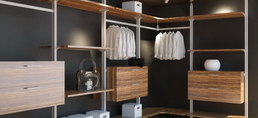 Колонная гардеробная система Витра ГВ-39