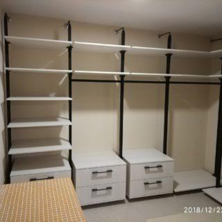 Колонная гардеробная система Витра ГВ-48