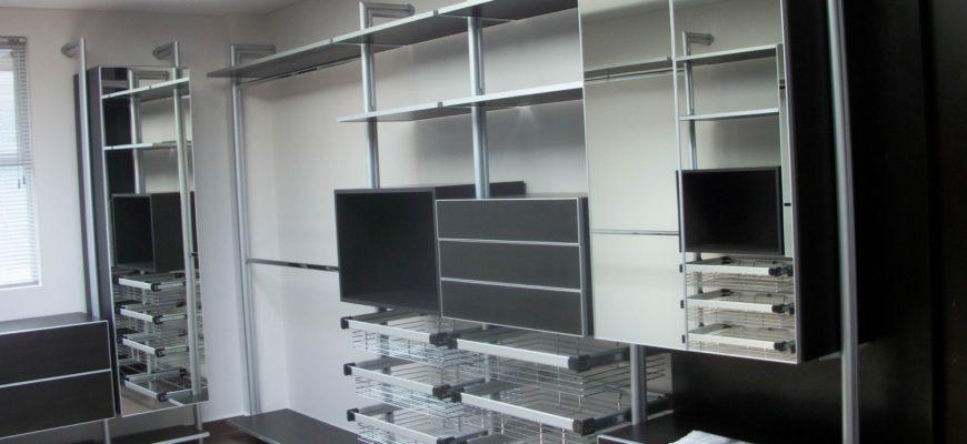 Колонная гардеробная система Витра ГВ-8