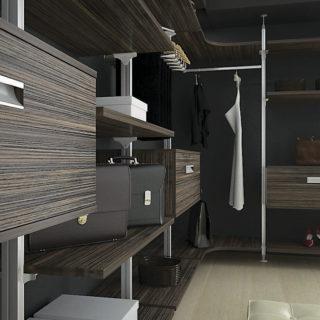Колонная гардеробная система Витра ГВ-17