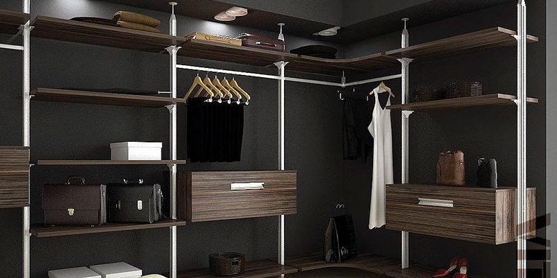 Колонная гардеробная система Витра ГВ-51