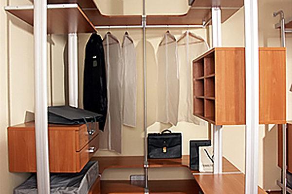 Колонная гардеробная система Витра ГВ-25